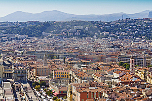 Historical Part Of Nice, France, Europe Royalty Free Stock Photography - Image: 22245687