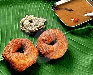 Wada Sambar For Breakfast Royalty Free Stock Photo - Image: 22246285