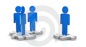 Concept Of Teamwork Stock Photos - Image: 22248123