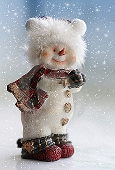 Snowman Stock Photography - Image: 22248462