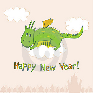 New Year's Greeting Card Stock Image - Image: 22252661