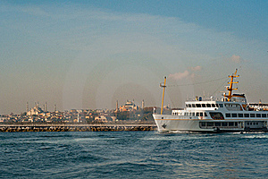 Istanbul City Ship Stock Images - Image: 22259434