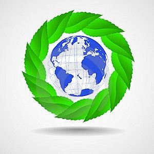 Green Eco Background Stock Image - Image: 22261111