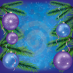Festive Christmas Background Blue.EPS 10 Stock Photography - Image: 22265432