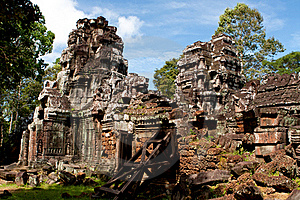 Ta Som Temple. Angkor,Cambodia Stock Photography - Image: 22266672