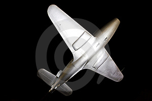 Monument To Sir Frank Whittle's Jet, Lutterworth Royalty Free Stock Images - Image: 22268369