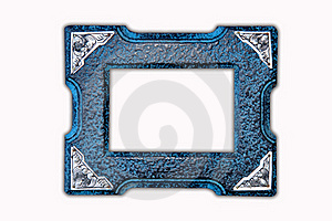 Antique Wooden Photo Frame Royalty Free Stock Photography - Image: 22269367