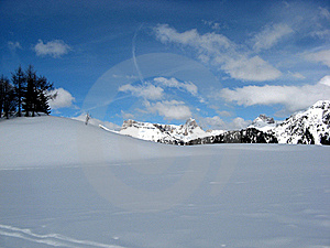 Crans Montana Royalty Free Stock Photo - Image: 22273135