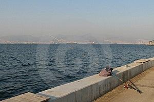 Fishing In Izmir Stock Image - Image: 22273201