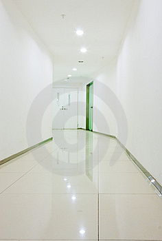 Office Corridor Interior Stock Images - Image: 22282174