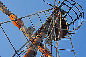 Mast Of The Sail Royalty Free Stock Images - Image: 22292489