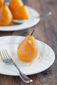 Poached Pears Royalty Free Stock Photo - Image: 22293765