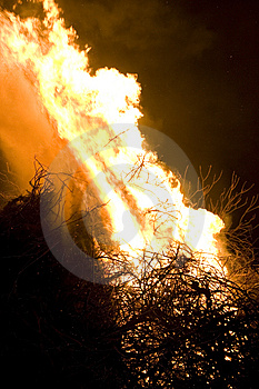 Flame Detail Stock Images - Image: 2231384