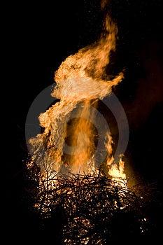 Flame Detail Royalty Free Stock Photos - Image: 2231388