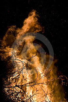 Flame Detail Royalty Free Stock Photos - Image: 2231458