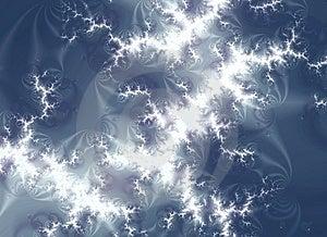 White Lightning Storm Texture Stock Image