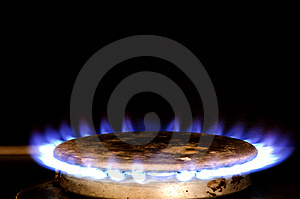 Gas ring Royalty Free Stock Photos