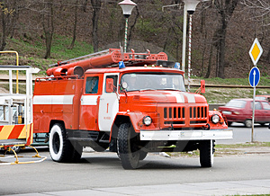 Fire truck Free Stock Image