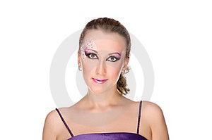 Beautiful Professionally Madeup Girl Royalty Free Stock Photos - Image: 22306128