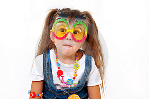 Surprised Little Girl Royalty Free Stock Photos - Image: 22310888