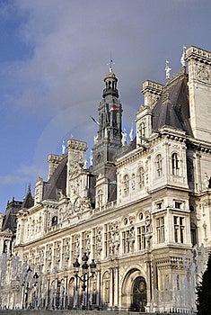 Paris City Hall Stock Images - Image: 22313154