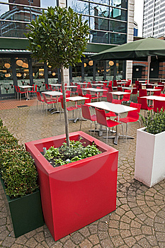 Outdoor Dining Area Royalty Free Stock Images - Image: 22332609