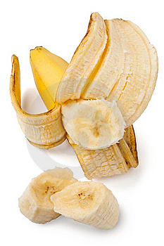 Peeled Banana Royalty Free Stock Image - Image: 22332886