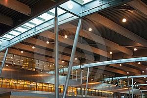 Modern International Airport Terminal Royalty Free Stock Photo - Image: 22333275