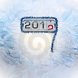 New Year Postcard Stock Photo - Image: 22333410