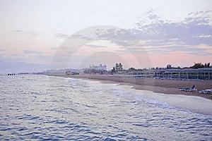 Evening Seaside Royalty Free Stock Photography - Image: 22334957