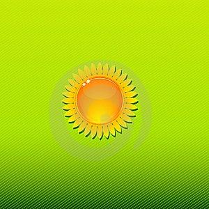 Sunny Background Green Stock Photos - Image: 22335633