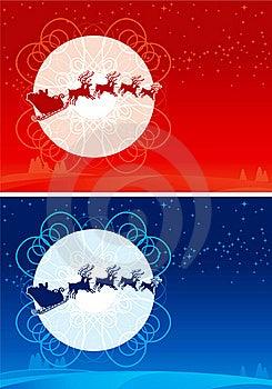 Santa Claus Sleigh Royalty Free Stock Images - Image: 22338529