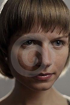Portrait Of Beautiful Young Caucasian Woman Stock Photos - Image: 22339013