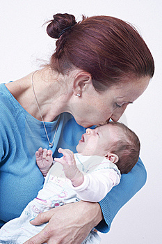 Mothers With Newborn Baby Royalty Free Stock Photography - Image: 22342507