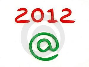 New Year 2012 Stock Photos - Image: 22345983