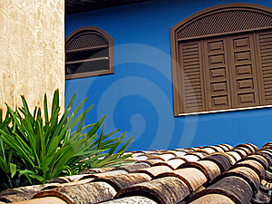 Roof And Wall Stock Image - Image: 22353891