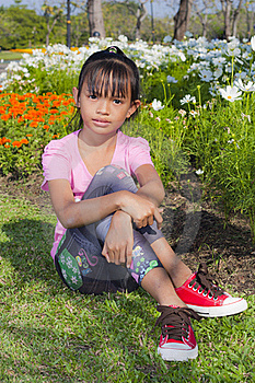 Little Girl Smile Royalty Free Stock Photography - Image: 22357657