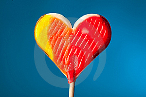 Candy Heart Stock Images - Image: 22359854