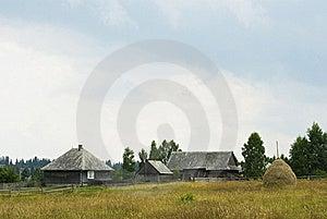 Mountain Village Farmhouses Royalty Free Stock Photography - Image: 22359867