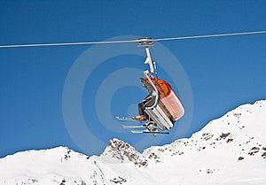 Chair Ski Lift Stock Photography - Image: 22365342