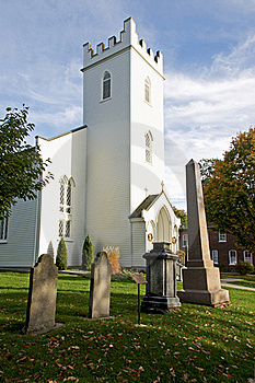 Historic St. Mark's Church - Port Hope, Ontario Royalty Free Stock Photos - Image: 22368328