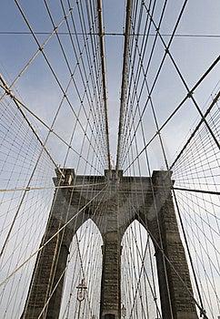 Puente De Brooklyn Fotografía de archivo - Imagen: 22371202