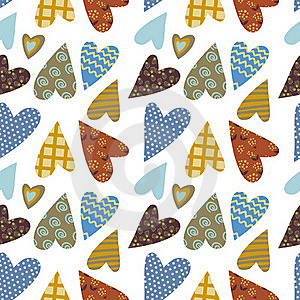 Heart Decorative Pattern Stock Images - Image: 22374154