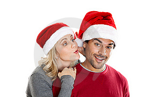 Christmas Secret Royalty Free Stock Images - Image: 22379389