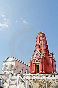 Red Pagoda At Phra Nakhon Khiri Park Stock Image - Image: 22387111