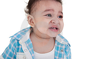 Indian Baby Crying Royalty Free Stock Photo - Image: 22387375