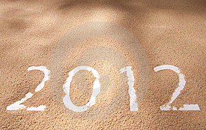 Newyear 2012 Royalty Free Stock Image - Image: 22395036