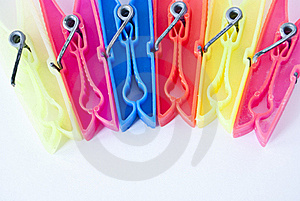 Clothes Pegs Royalty Free Stock Photography - Image: 22397767
