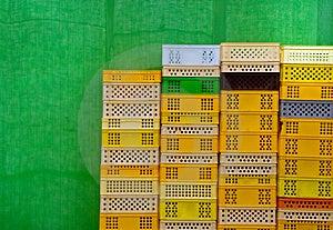 Envases Coloridos Fotos de archivo libres de regalías - Imagen: 2240548