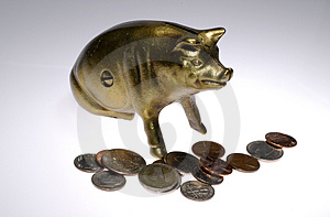 Brass Bank Stock Photos - Image: 2241383